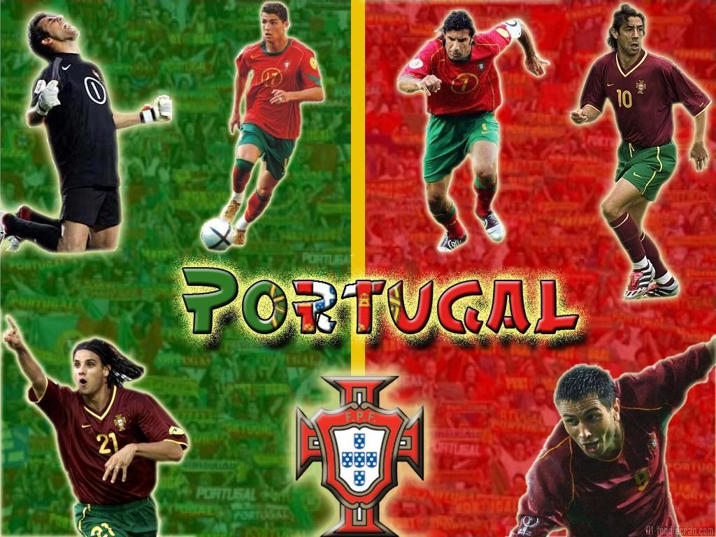 Fond ecran football l 39 equipe du portugal portugal foot for Fond ecran foot